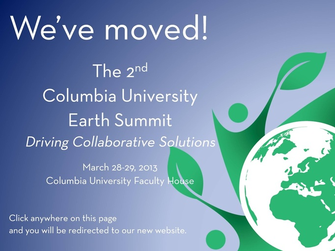 Earth Summit We've Moved!